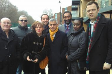 Sadiq Khan launches new council homes in Ealing